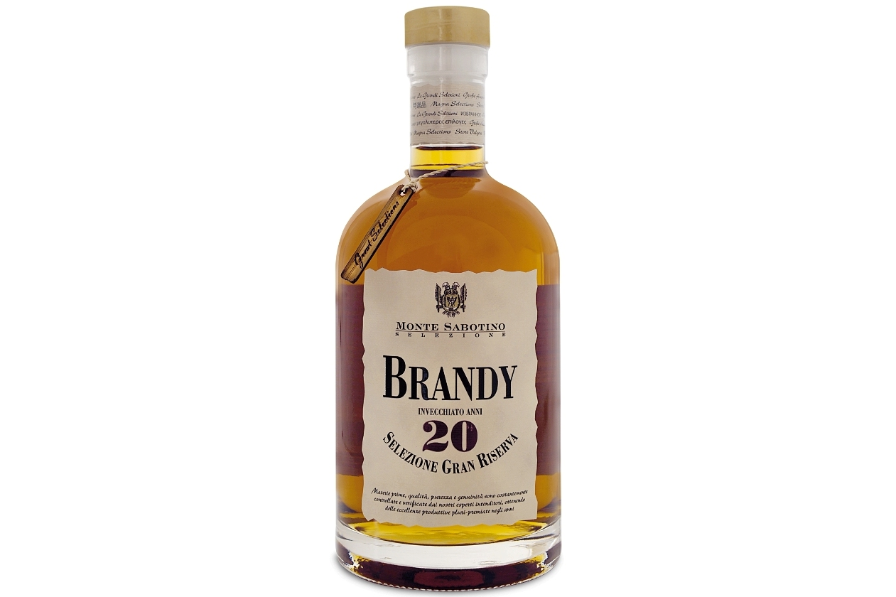 Brandy straveccio 20 anni Monte Sabotino