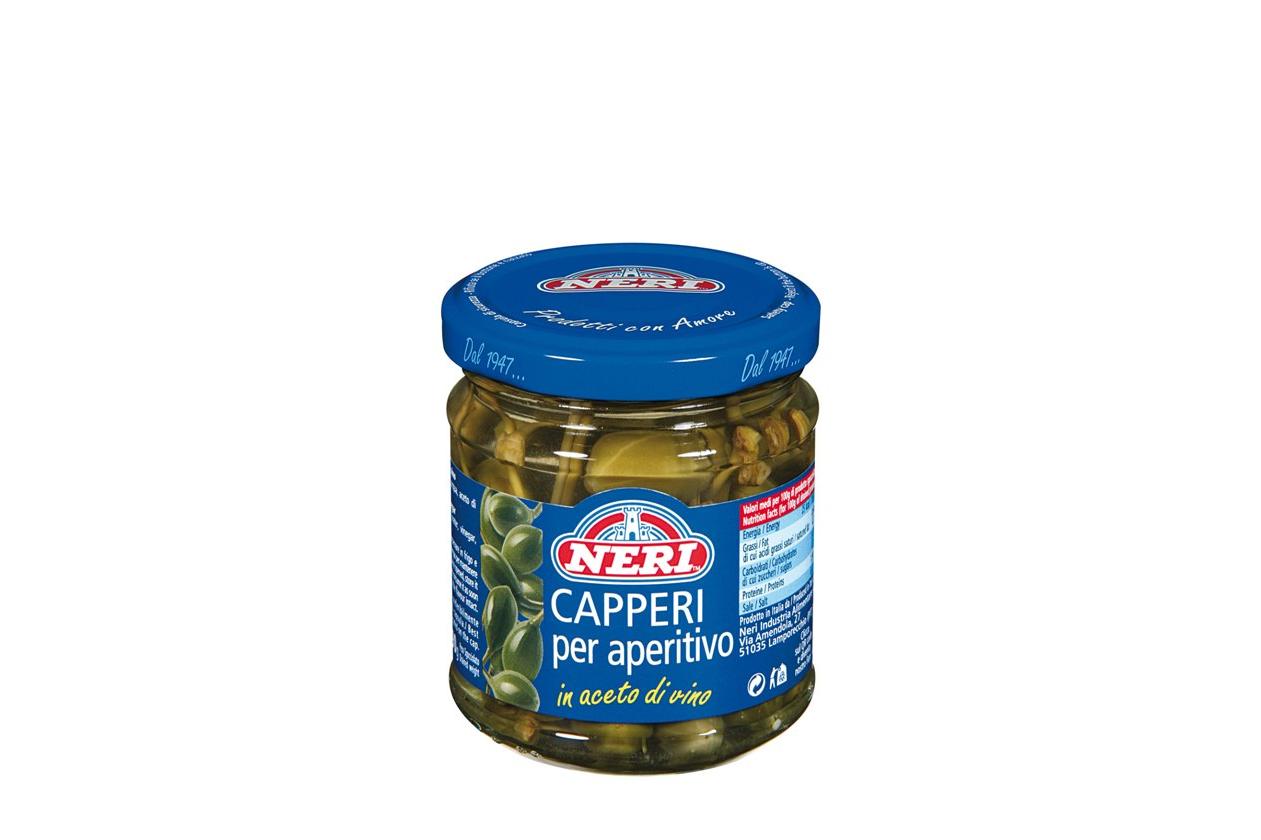Kapern mit Stiel Neri 200 g