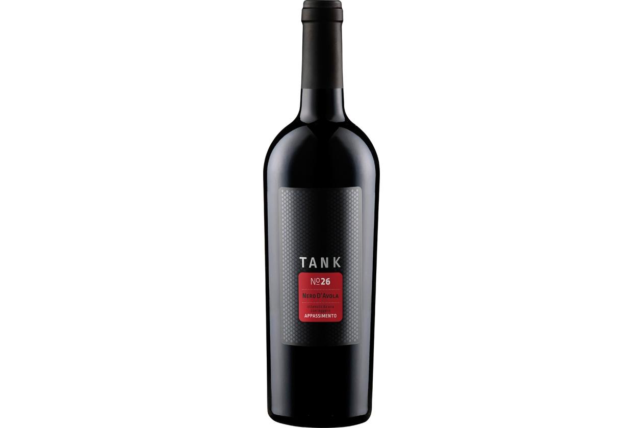 2017er Nero d'Avola Appassimento Tank 26 I.G.T.