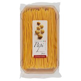 Chitarrelle (eckige Spaghetti) all' uovo Papi