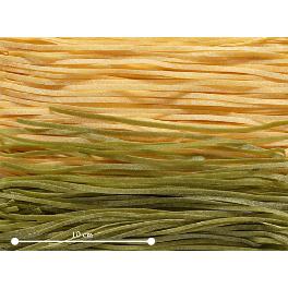 Tagliolini Paglia e fino (grüne und weisse Nudeln) Maroni Marilungo