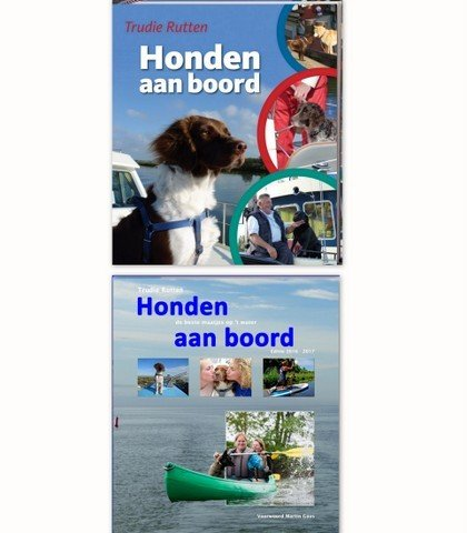 Boek Honden aan Boord- deel 1&2