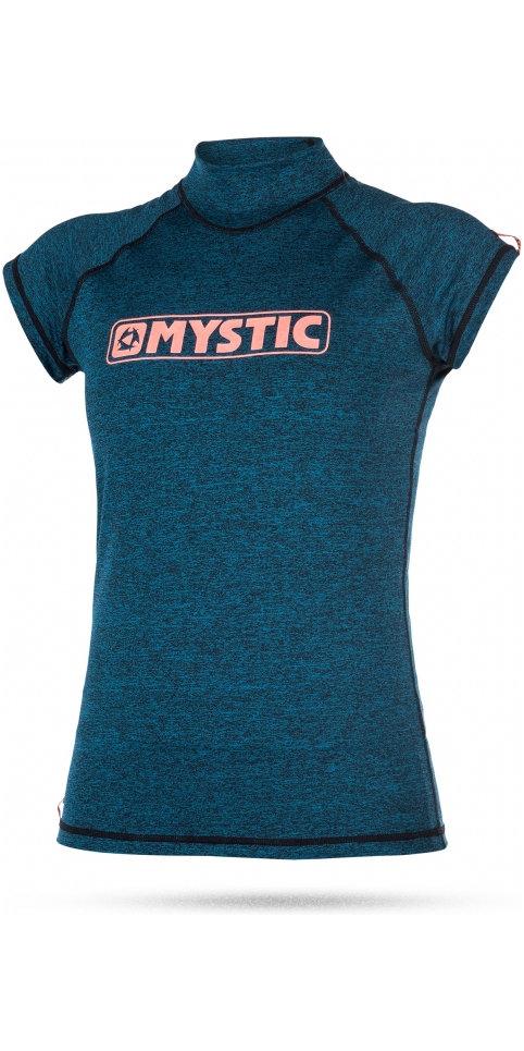 MYSTIC Ladies StarShort-Sleeve-Rash-Vest - 2017