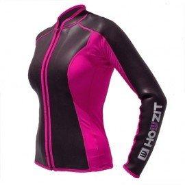 HowZit Neopreen Jacket black/pink