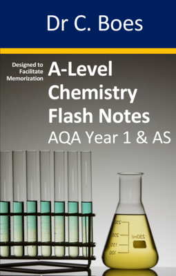 A-Level Chemistry Flash Notes AQA Year 1 & AS: Paperback