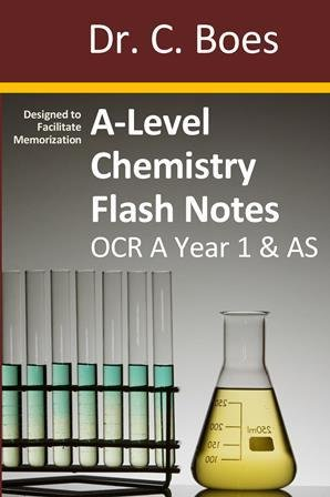 A-Level Chemistry Flash Notes OCR A Year 1 & AS: Paperback