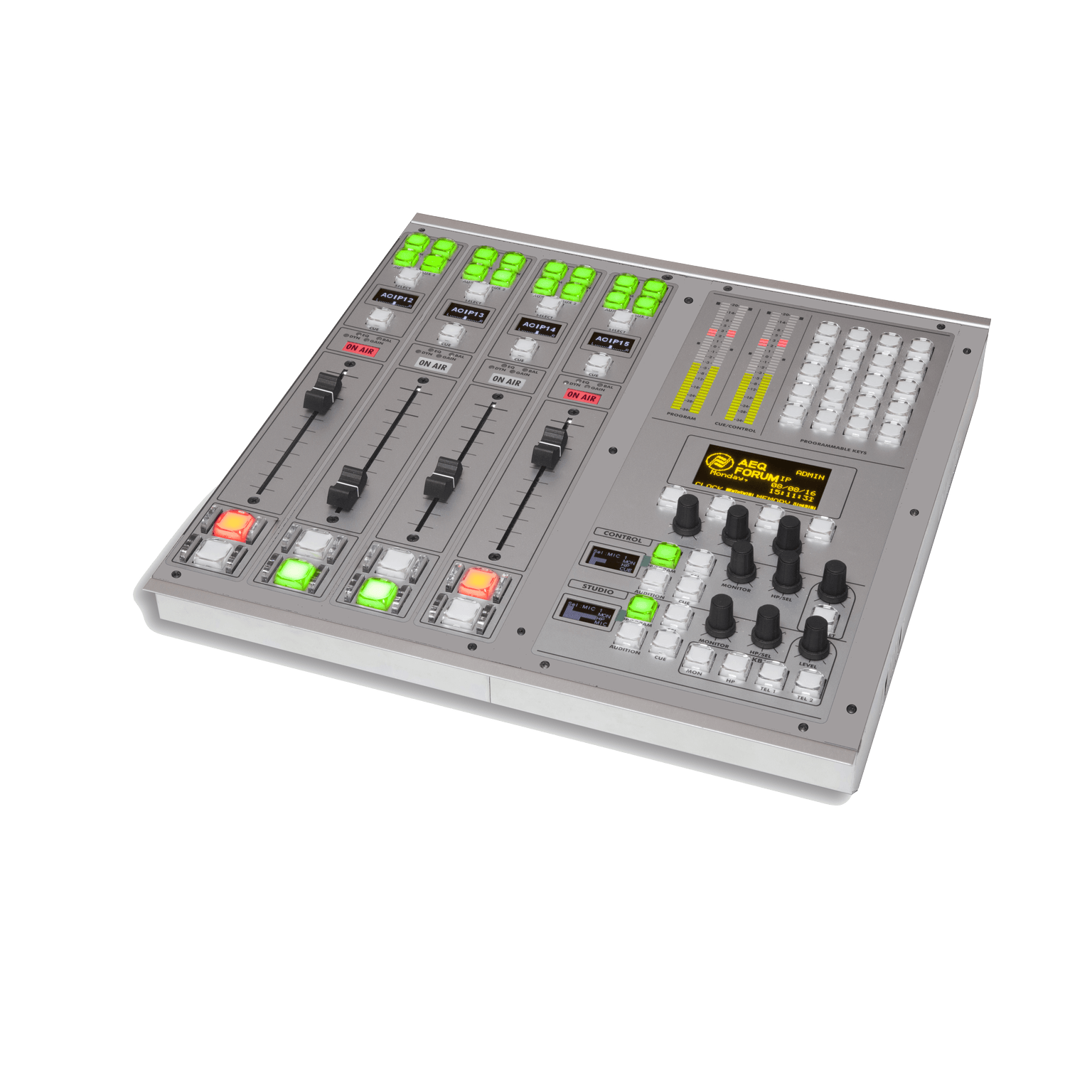 AEQ Forum IP Split - 8 Fader Channel Standard Configuration Package