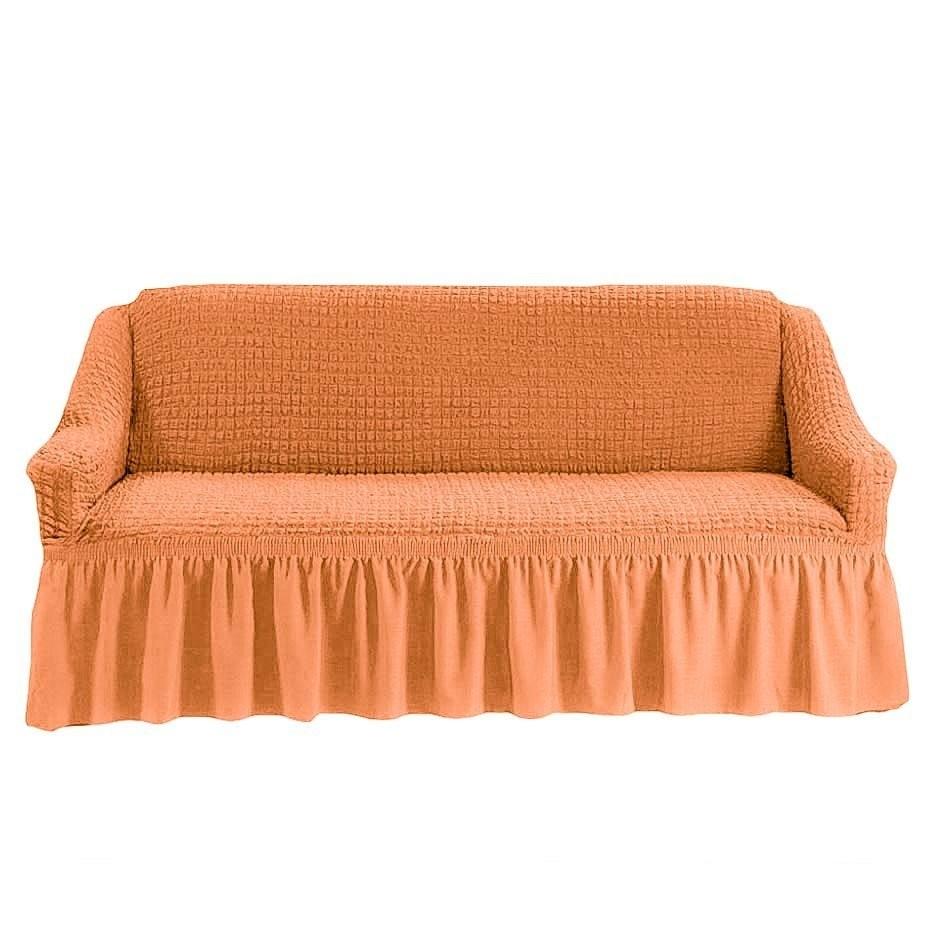 Чехол на 3-й диван (персик)
