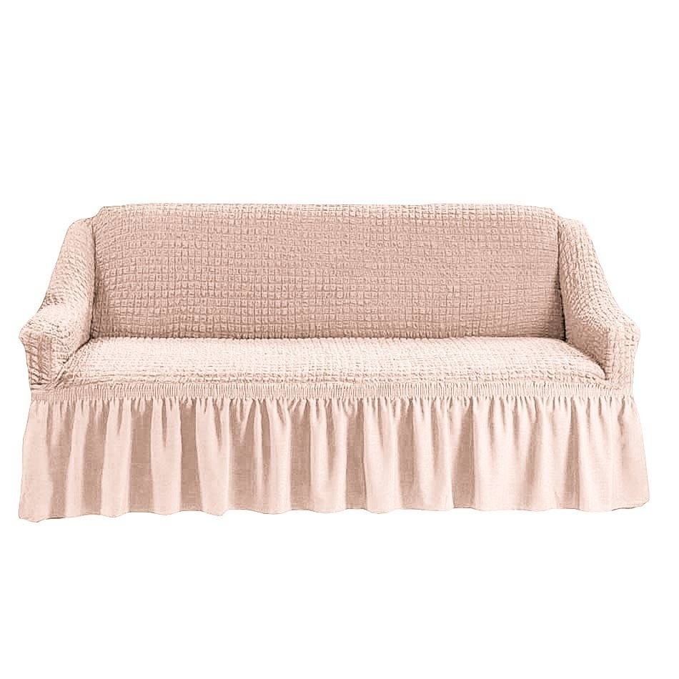 Чехол на 2-й диван (шампань)
