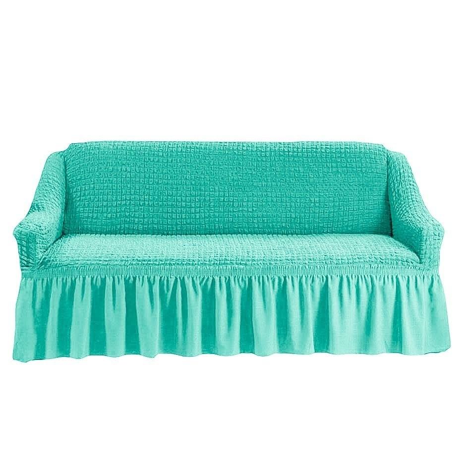 Чехол на 2-й диван (бирюза)