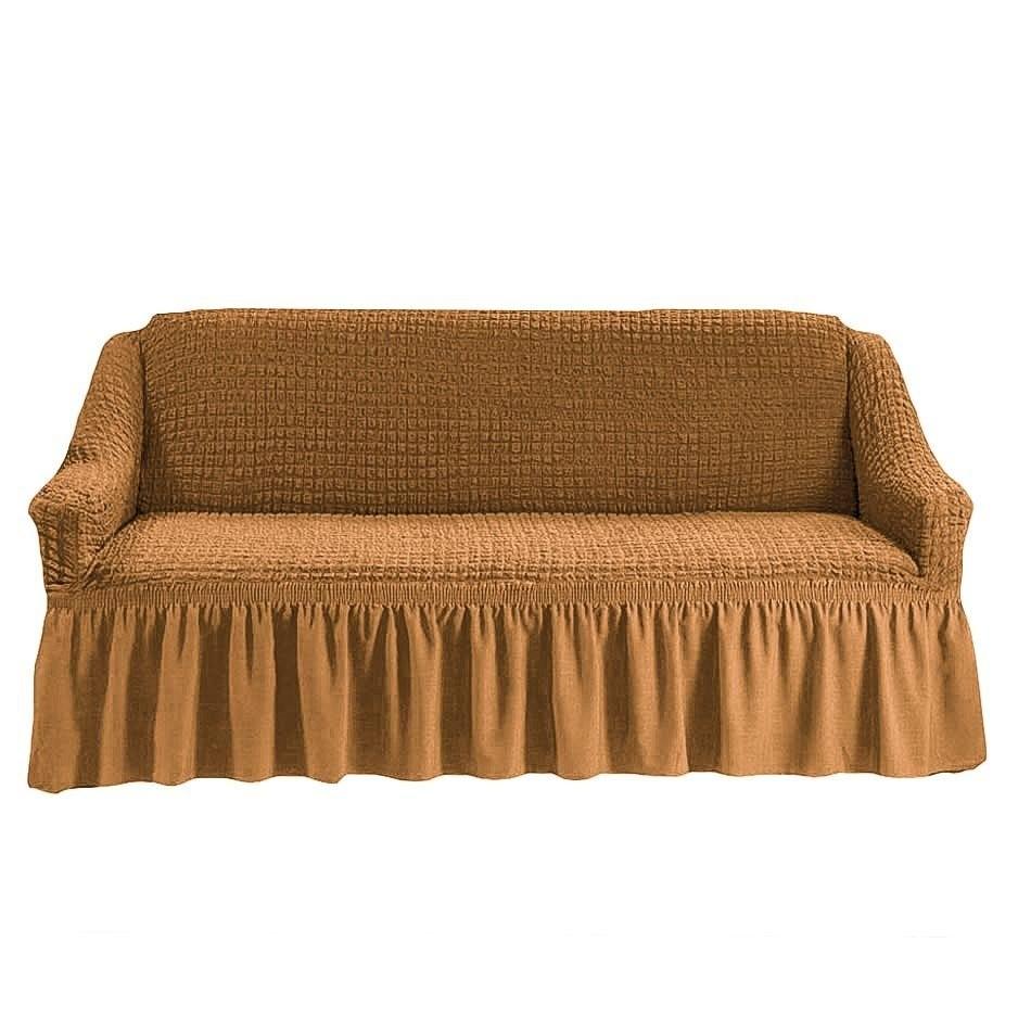 Чехол на 2-й диван (горчичный)