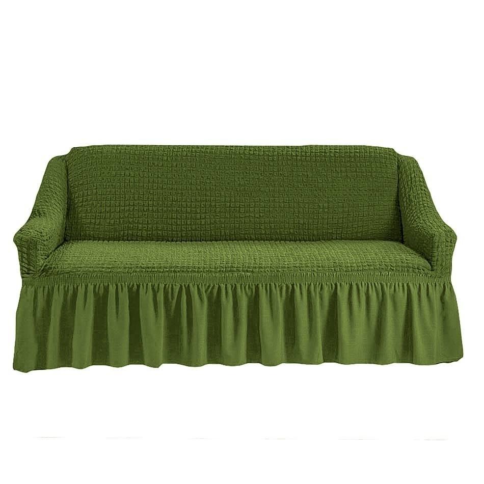 Чехол на 2-й диван (зеленый)