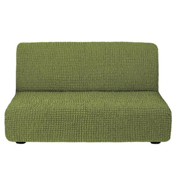 Чехол для дивана без подлокотников (зеленый)