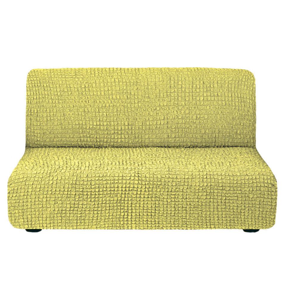 Чехол для дивана без подлокотников (фисташка)