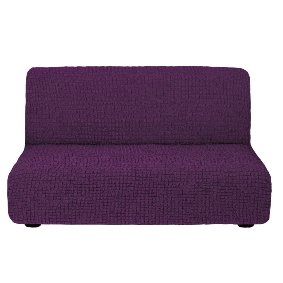 Чехол для дивана без подлокотников (слива)