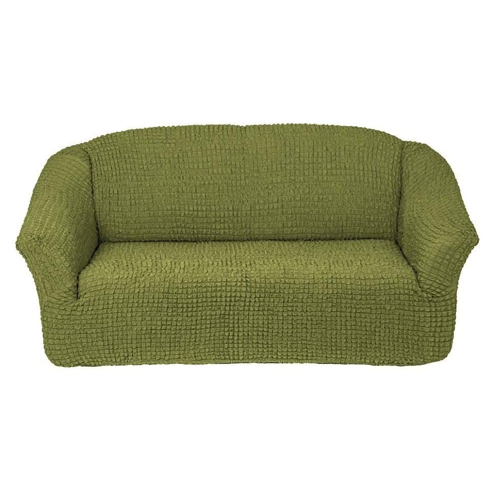 Чехол для 3-го дивана без оборки (фисташка)