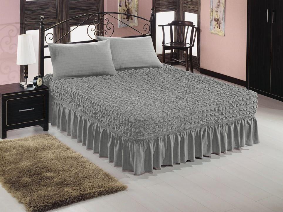 Чехол для кровати (серебро)
