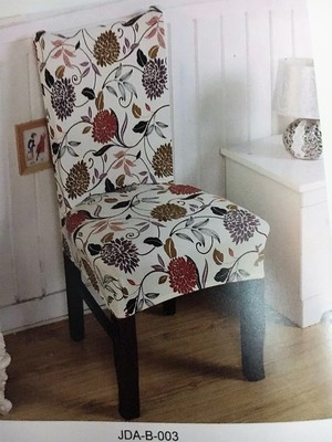 Чехол на стул без оборки с рисунком (А0003)