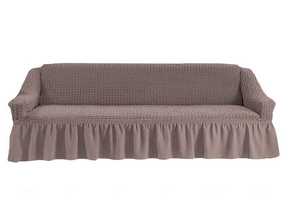 Чехол на четырехместный диван (какао)