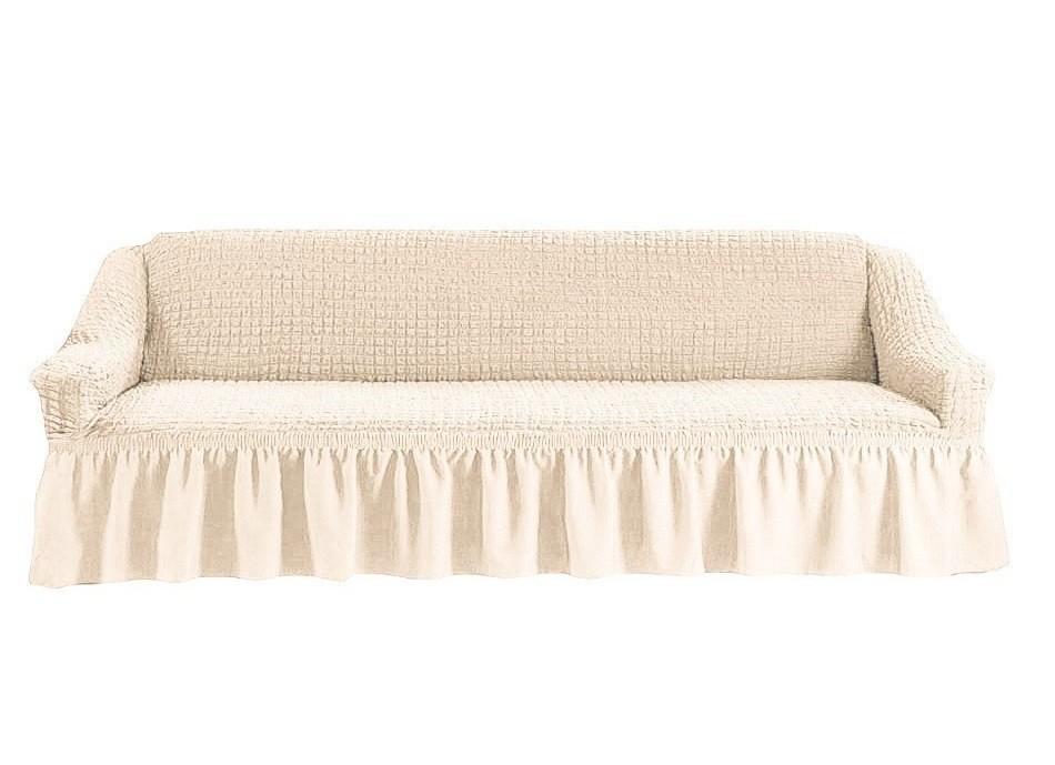 Чехол на четырехместный диван (шампань)