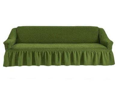 Чехол на четырехместный диван (зеленый)