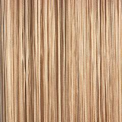 Нитяные шторы кисея (бежевый)