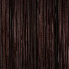 Нитяные шторы кисея (венге)