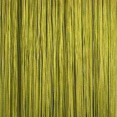 Нитяные шторы кисея (оливковый)