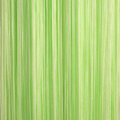 Нитяные шторы кисея (салатовый)