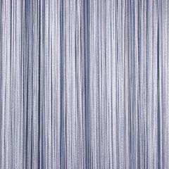 Нитяные шторы кисея (серый)