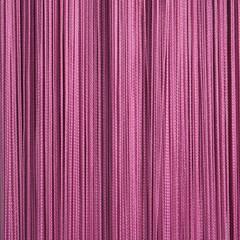 Нитяные шторы кисея (темно-розовый)
