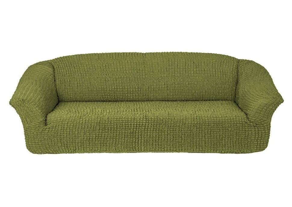 Чехол для 4-х местного дивана без оборки (фисташка)