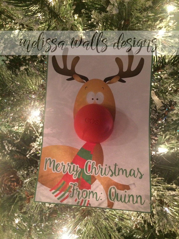 Reindeer EOS Card {Digital Download}
