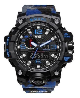 MONTRE SPORT HOMME bracelet bleu