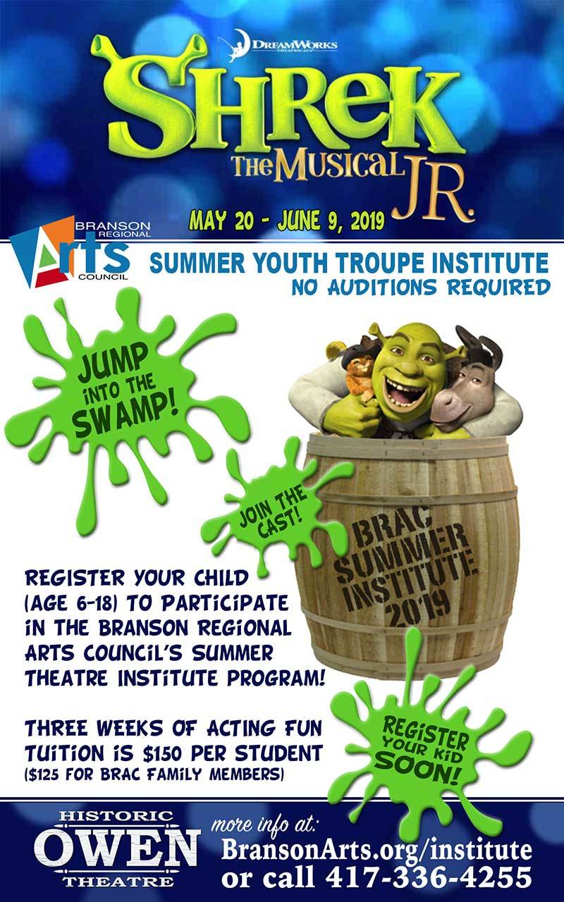 Youth Troupe Summer Institute (May 20-June 9)