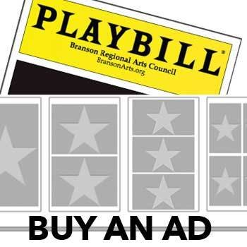 BRAC OFFICIAL PLAYBILL THEATRE PROGRAM AD