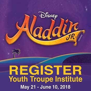 Youth Troupe Summer Institue (May 21-June 10) INSTITUTE-18A