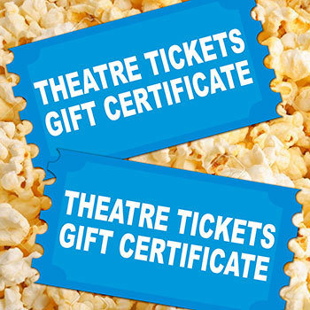 Theatre Show Gift Certificates 2TIXGIFT
