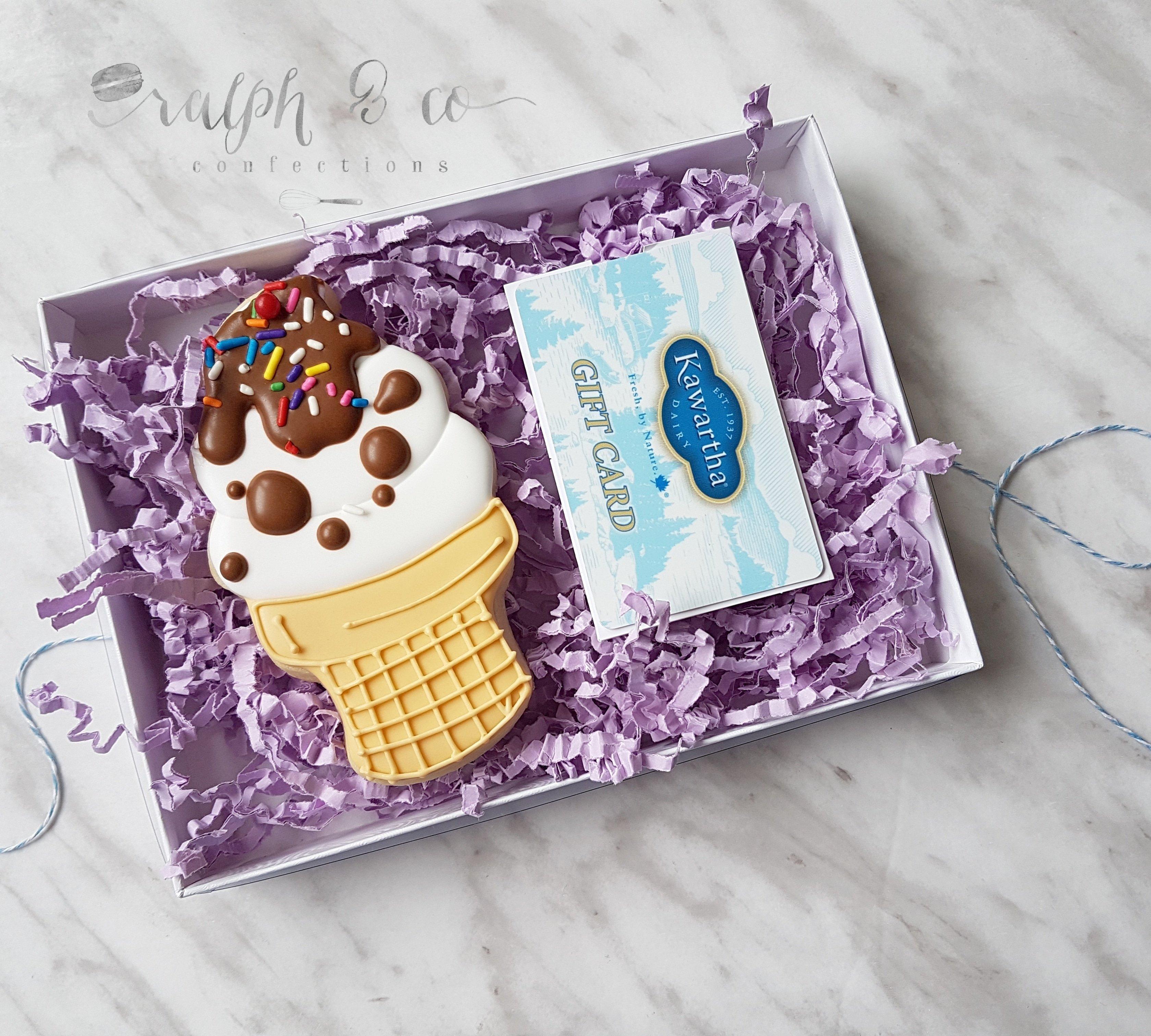 Ice Cream Cone & Kawartha Dairy Gift Card 00002