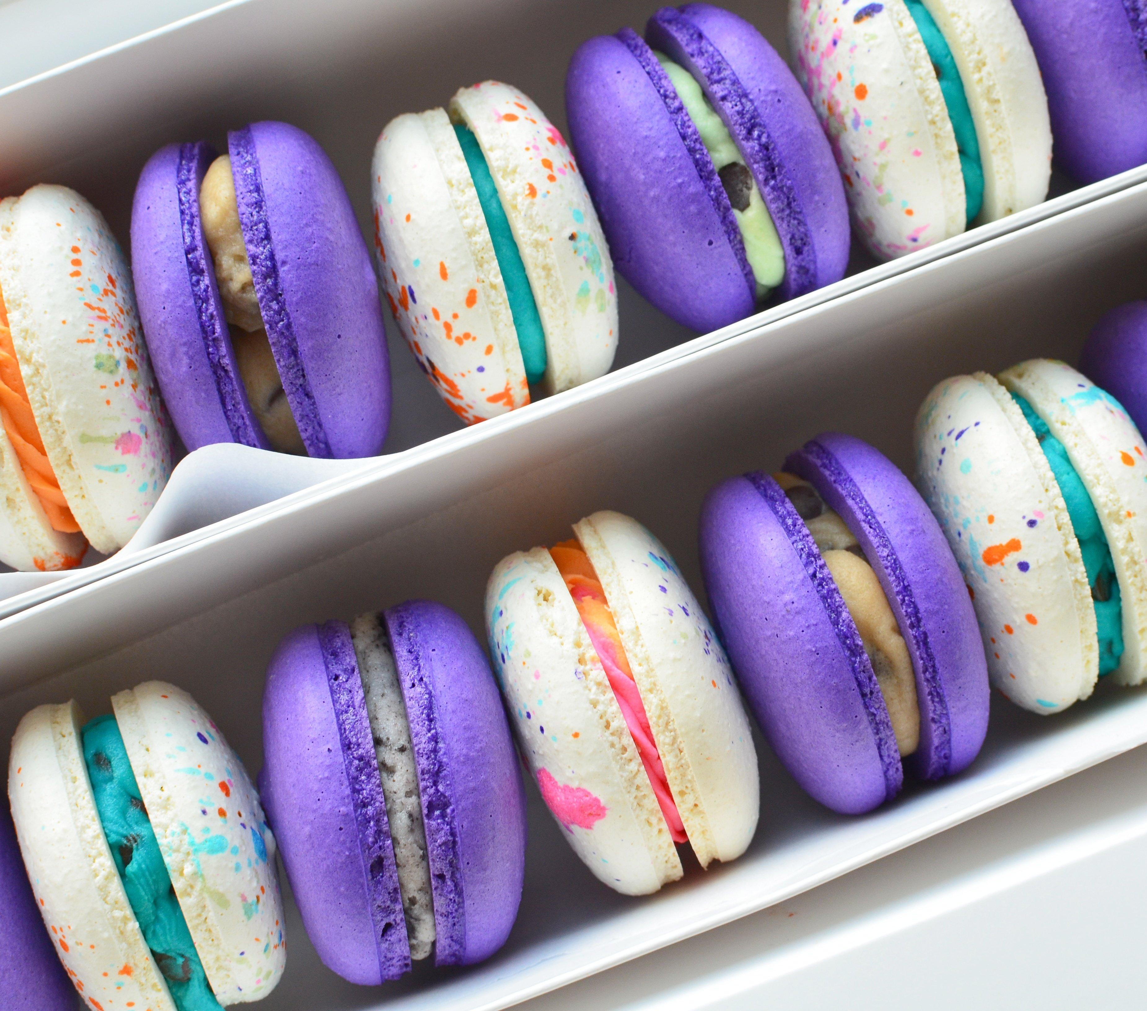 Ice Cream Macarons (Cookie Dough, Bubblegum & Cookies & Cream)3 00005