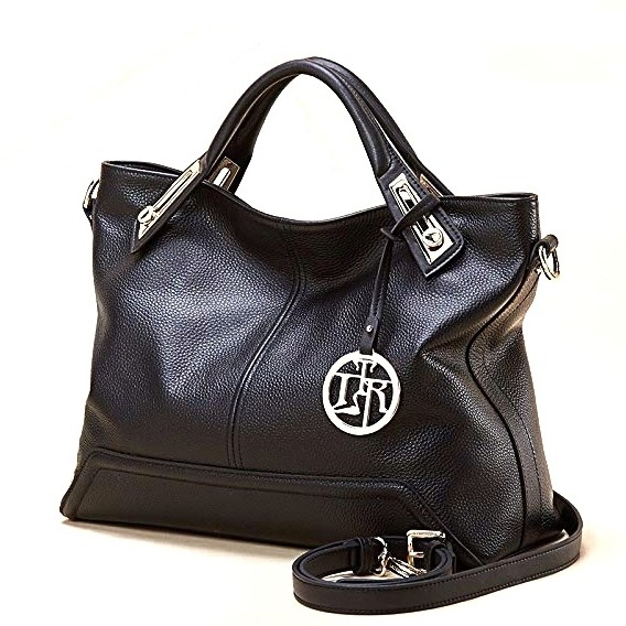 263b5ae8be92 Сумка жіноча шкіряна чорна/чорного кольору Laorentou, Elegant