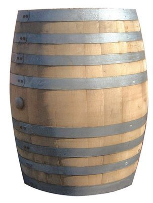 Unfinished Wine Barrel