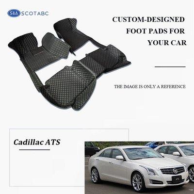 Cadillac ATS Floor  Mats  2013-present, Scotabc Custom Fit All-Weather Car Mats