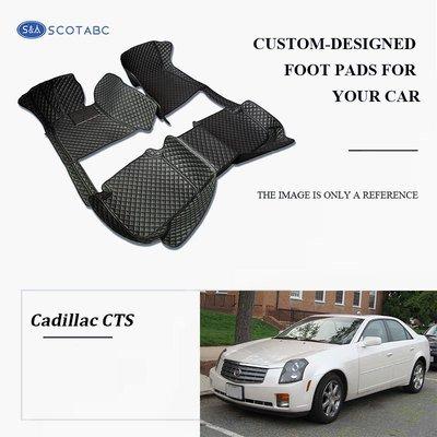 Cadillac CTS Floor  Mats  2003-present, Scotabc Custom Fit All-Weather Floor Mats