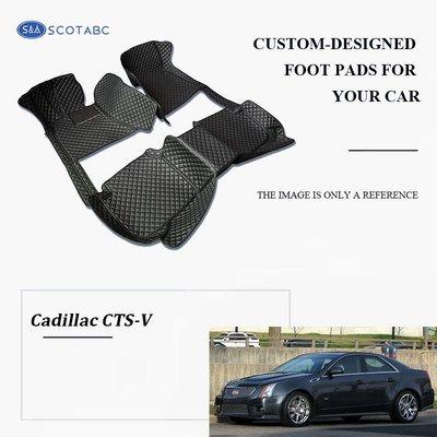 Cadillac CTS-V Floor  Mats  2004-present, Scotabc Custom Fit All-Weather Floor Mats
