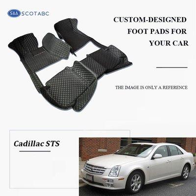 Cadillac STS Floor  Mats  2004-2011, Scotabc Custom Fit All-Weather Floor Mats