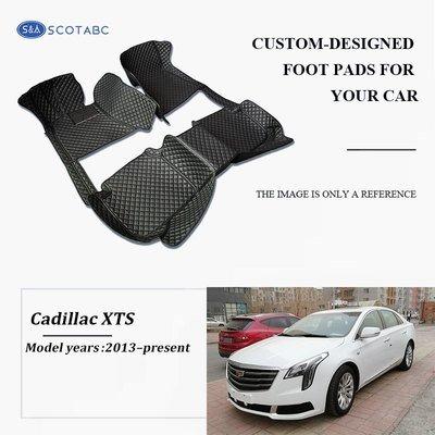 Cadillac XTS Floor  Mats  2013-present, Scotabc Custom Fit All-Weather Floor Mats
