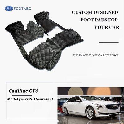 Cadillac CT6 Floor  Mats  2016-present, Scotabc Custom Fit All-Weather Floor Mats