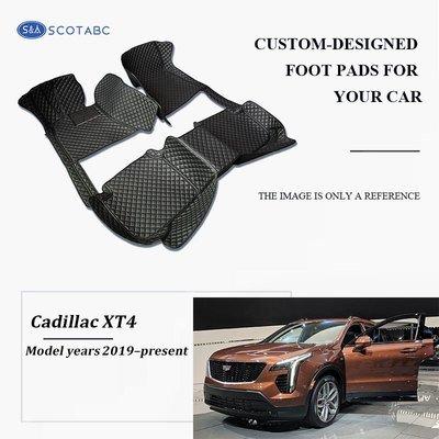 Cadillac XT4 Floor  Mats  2019-present, Scotabc Custom Fit All-Weather Floor Mats