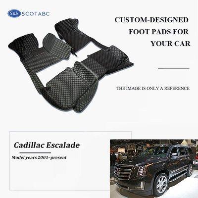 Cadillac Escalade Floor Mats 1999-present, Scotabc Custom Fit All-Weather Floor Mats